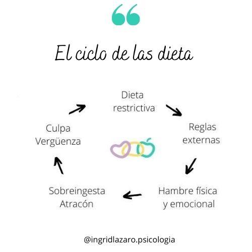 el ciclo de las dietas